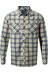 Craghoppers Andreas overhemd en blouse lange mouwen geel/grijs
